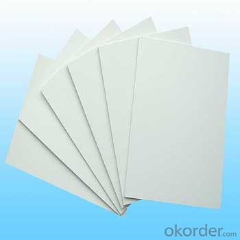 Quality assured new coming kitchen cabinets pvc foam board 18mm