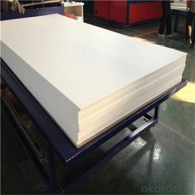 PVC Foam Board 5mm Color embossed for Pop-up In China