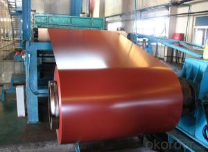 Red Color Aluminium Coils for Color Coating ACP Top Coils