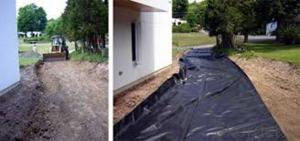 Short Nonwoven Geotextile for Road Construction