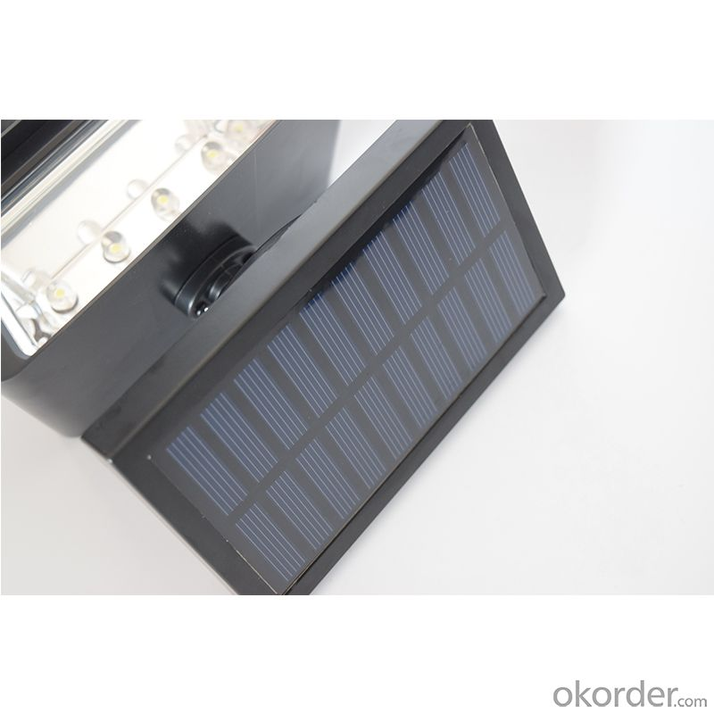 Long Working Hours ABS Solar Power Spot Light