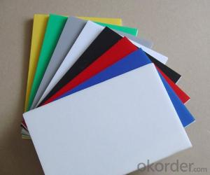25mm White water-proof pvc foam board/pvc roof sheet