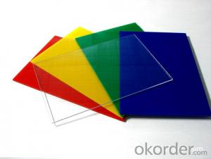 Good chemical stability plastic board pvc rigid sheet with any thickness