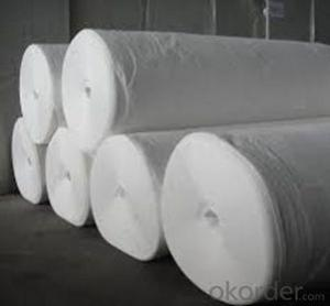 Polyester  Staple  Nonwoven Geotextile Fabric for Road Construction in China