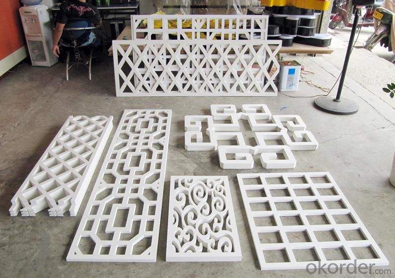 Buy Decorative Carving Hard Plastic Sheet Pvc Foam Board