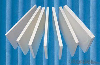 white/ black rigid high density 4x8 pvc foam board for advertising