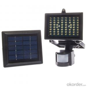 Outdoor Solar Sensor Led Flood Light New Model