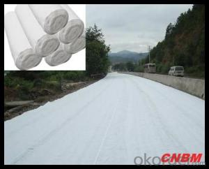 Non woven Geotextile with Mat / Short Fiber/ Needle Punched