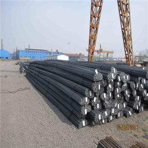 Deformed iron rods for construction building