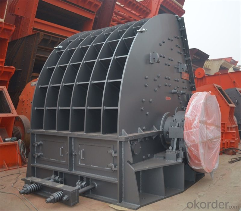 Limestone crushing equipment- heavy counter hammer crusher