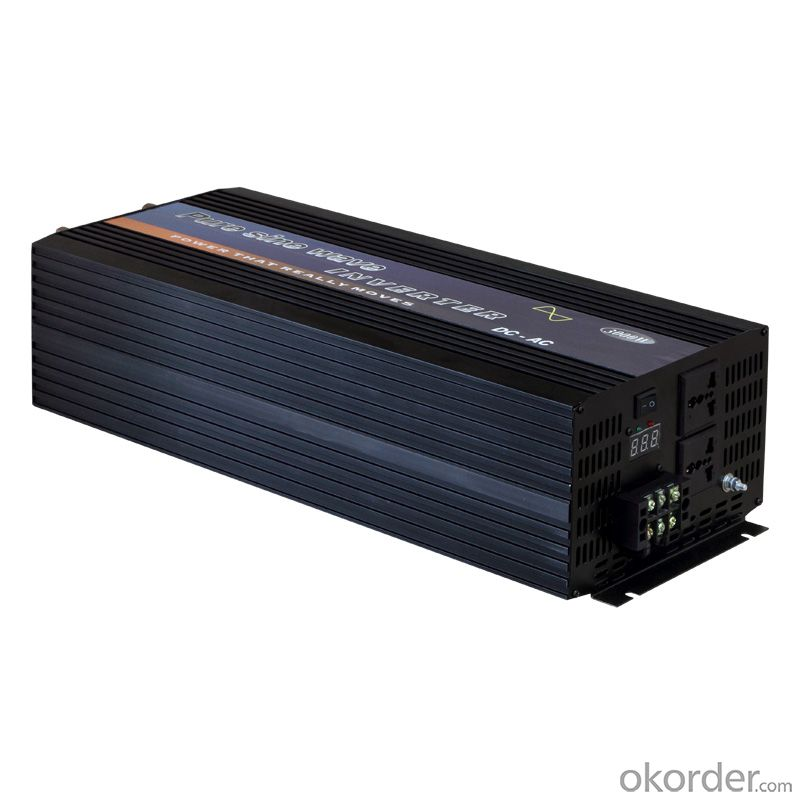 Pure Sine Wave Charger Inverter 2000W for Sale