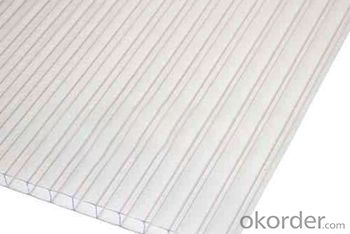Polycarbonate Hollow Sheet Sound and hHeat Proof