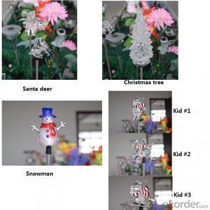 New Design Led Solar Decorative Light for Garden Christmas Tree