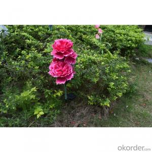 Solar Powered Blossom Peony Flower Lights for Garden, Path, Patio, Yard, Home, Halloween, Christmas
