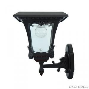 LED Solar Post Lantern Solar Column Light Solar Fence Light Solar LED Post Lamp Solar Wall Lamp