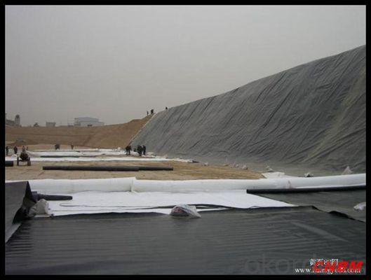 500g Nonwoven Geotextile for  Real Estate China