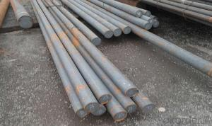 SKD11 Hot rolled 12mm steel rod price , SKD11 die steel bar, 1.2379 steel round bar
