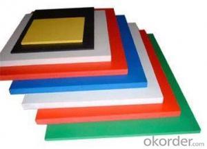 PVC plastic sheet for building materials