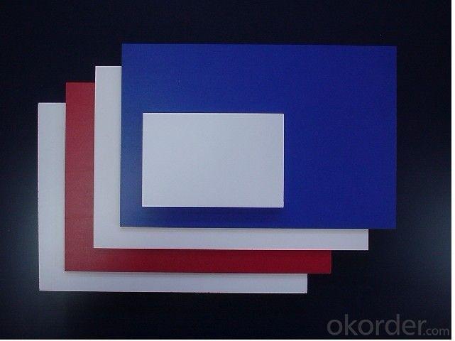 Rigid PVC sheet/rigid PVC board/promotional usage cardboard