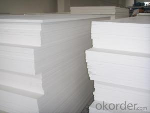 Excellent performance Good dimensional strength Pvc rigid sheet for engineering