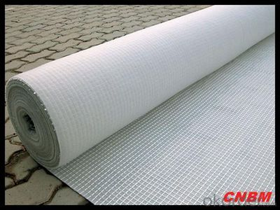 Needle Punch Geotextile  Used in Railway  from CNBM