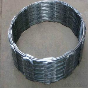Galvanized Razor Wire Bto-22 in Hotsales