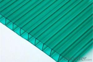 Polycarbonate Hollow Sheet  Ultraviolet Resistance: With UV Protective Layer