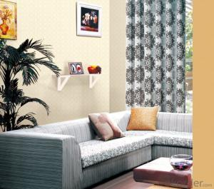 Flocking Luokeke Colorful Wallpaper For Hotle Room Decoration