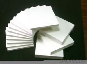 Extruded PVC foam board as 33mm white pvc foam sheet