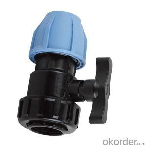 SPT Brand Female  single union ball valve