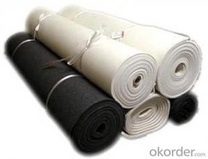 Short Non-woven Geotextile Fabric 300gsm for Railway-CNBM