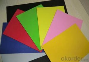 PVC Foam Board High Density Stable Color Retention.