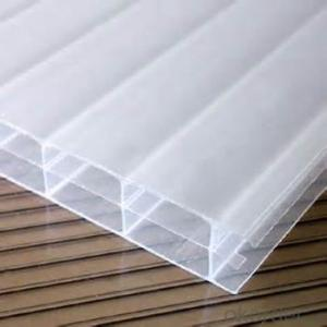 Polycarbonate Sheet  The Thermal Deformation Temperature:(1.80MPa)≥125