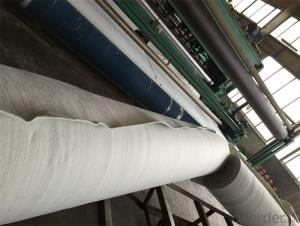 500g Nonwoven polyester staple fiber Geotextile Fabric for Road Construction