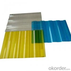 Twin Wall PC Hollow Sheet Service Temperature -40°C~+120°C
