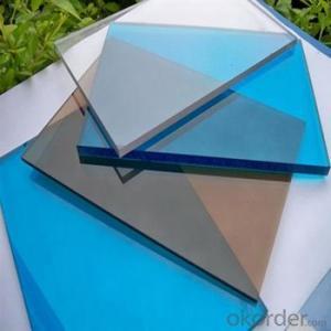 Polycarbonate Roofing Sheet Transmission (Solid Sheet 3 mm):≥80%