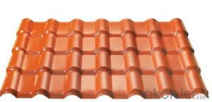 Synthetic resin tile impact resistance low temperature-China