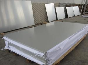 Mill Finished Aluminium Plate For Decoration Material Production