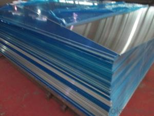 Mill Finished Aluminium Sheet For Decoration Material Production With PVC Film
