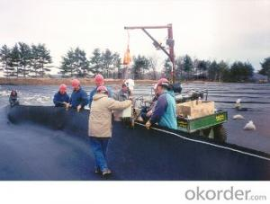 Nonwoven polyester  fiber Geotextile Fabric with High Stabilization for Road Construction