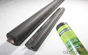 Short Non-woven Geotextile Fabric Polypropylene Roll For Road Construction