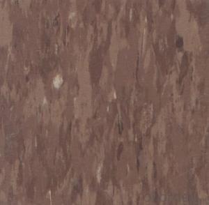 Homogeneous Commercial Tile Vinyl Floor from China Manufacturer  TCD 325