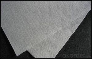 500g Nonwoven polyester staple fiber Geotextile Fabric Price