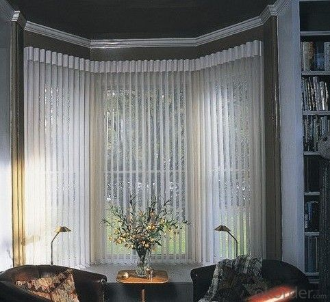 Buy Home Decor Latest Design Motorized Vertical Blinds Clear Rigid Outdoor Vertical Pvc Blinds