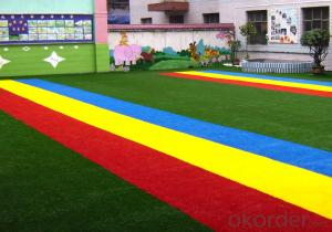 Healthy Artificial Grass for Kindergarten Flooring