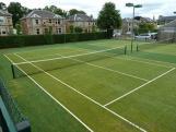 Artificial Grass for Playground Badminton Court