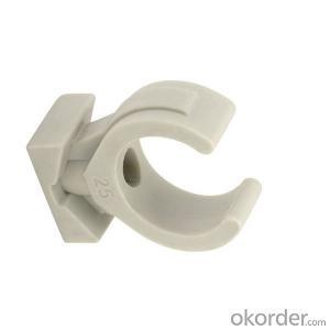 Polypropylene-Random Plastic clip with SPT Brand