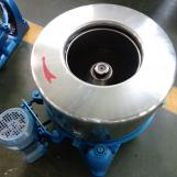 industrial hydro extractor used by clothes factory