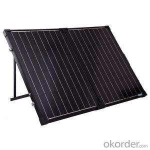 200W Folding Solar Panel with Flexible Supporting Legs for Camping