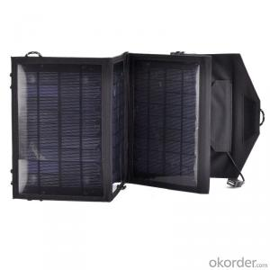 90W Folding Solar Panel with Flexible Supporting Legs for Camping